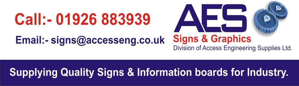 AES Signs & Graphics web header.